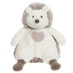 Teddykompaniet Unisex Soft toys Grey Teddy Cream Hedgehog Small