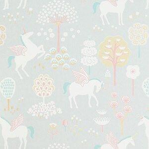 Majvillan Unisex Home accessories Grey rue Unicorn Wallpaper Grey