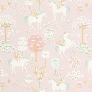 Majvillan Unisex Home accessories Pink True Unicorn Wallpaper Pink