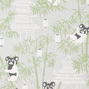 Majvillan Unisex Home accessories Grey Bambu Wallpaper Grey