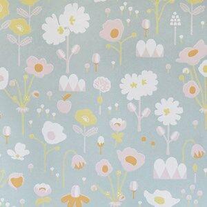 Majvillan Unisex Home accessories Grey Bloom Wallpaper Grey