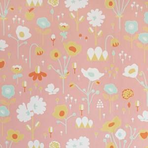 Majvillan Unisex Home accessories Pink Bloom Wallpaper Pink