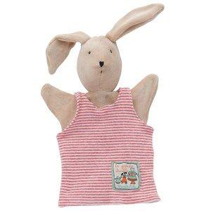 Moulin Roty Unisex Role play Beige Slyvain the Rabbit Handpuppet