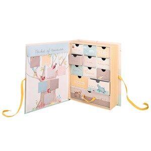 Moulin Roty Unisex Reading Cream Cream Souvenir Box with Elephants