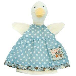Moulin Roty Unisex Soft toys Green Jeanne the Duck Handpuppet