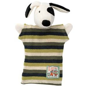 Moulin Roty Unisex Role play Black Julius the Dog Handpuppet