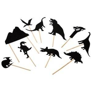 Moulin Roty Unisex Role play Black Black Dinosaur Nighttime Shadows