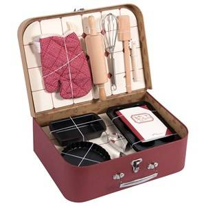 Moulin Roty Unisex Role play Red Red Baking Set Kit