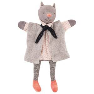 Moulin Roty Unisex Role play Grey The Gallant Cat Hand Puppet