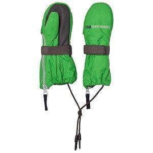 Didriksons Unisex Gloves and mittens Green Biggles Zip Mittens Kryptonite