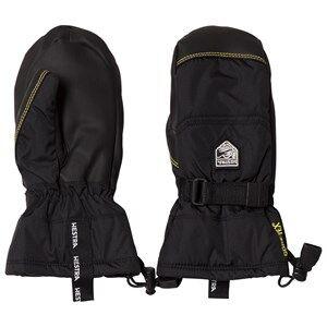 Hestra Unisex Gloves and mittens Black Gore-Tex Gauntlet Jr. Mitten Black