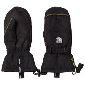 Image of Hestra Unisex Gloves and mittens Black Gore-Tex Gauntlet Jr. Mitten Black