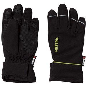 Hestra Unisex Gloves and mittens Black CZone Pick Up Jr. 5 Finger Black