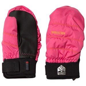Hestra Unisex Gloves and mittens Pink CZone Primaloft Jr. Mitten Pink