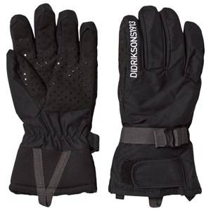 Image of Didriksons Unisex Gloves and mittens Black Vinterhandskar, Five,