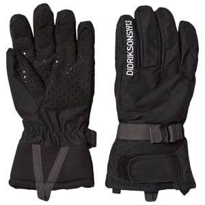 Image of Didriksons Unisex Gloves and mittens Black Vinterhandskar, Five,