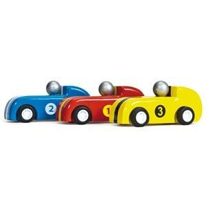 Le Toy Van Unisex Vehicles Black Pull Back Racers (3 Pack)
