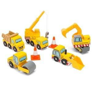 Le Toy Van Unisex Figurines and playsets Yellow Construction Set