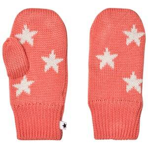 Image of Molo Girls Gloves and mittens Pink Snowfall Mittens Sunrise