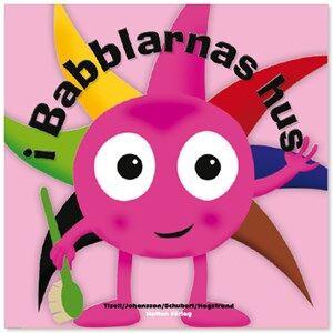 Babblarna Unisex Reading Pink Barnbok, I Babblarnas hus
