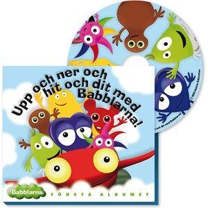 Babblarna Unisex Musical instruments and toys Multi CD-skiva, Första Albumet