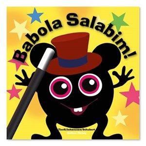 Babblarna Unisex Reading Yellow Barnbok, Babola Salabim