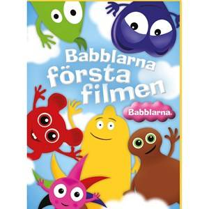 Babblarna Unisex Movies and TV-games Multi Första Filmen, DVD
