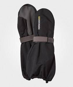 Image of Didriksons Unisex Gloves and mittens Black Biggles Mittens Black