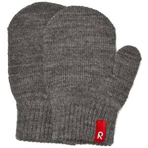 Reima Unisex Gloves and mittens Grey Mittens Stig Melange Grey