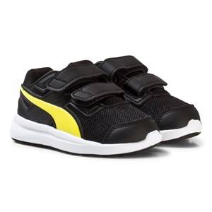 Puma Boys Sport footwear Black Black Escaper Mesh V Infant Sneakers