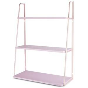 JOX Furniture Wall Shelf 3-Level Light Pink