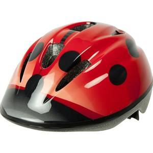 OK-baby Ladybug Bicycle Helmet Red