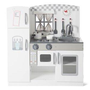 Wood Little Big Kitchen White