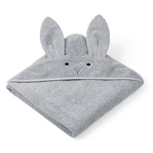 Liewood Augusta Hooded Towel Dumbo/Grey