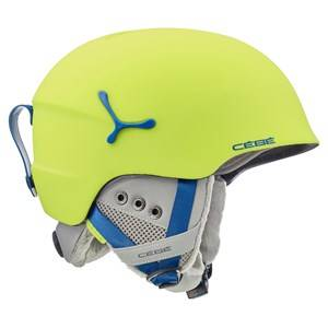 Cebe Suspense Deluxe Ski Helmet Matte Lime/Blue