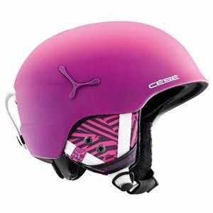 Cebe Suspense Deluxe Ski Helmet Matte Pink/Zebra