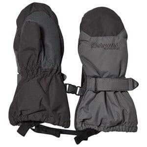 Image of Bergans Black Kids Insulated Mittens Ski gloves and mittens