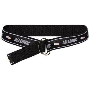 Caroline Bosmans Allergic Ribbon Belt Black Canvas and fabric belts