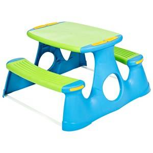 Oliver & Kids Picnic Table in Blue/Green