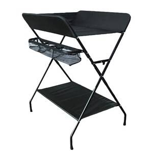 Carena Foldable Torn Changing Table Black Changing tables