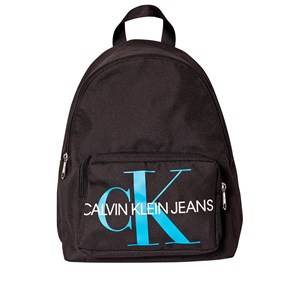 Image of Calvin Klein Jeans Monogram Patchwork Sport CKJ Backpack Black Backpacks