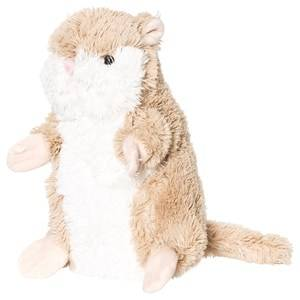 STOY Hamster Soft Toy Brown 20 cm