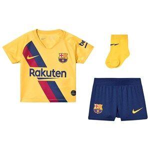 Image of Barcelona FC FC Barcelona Stadium Baby Soccer Set Yellow 9-12 months