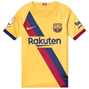 Image of Barcelona FC FC Barcelona Stadium Soccer T-Shirt Yellow XS (6-8 years)