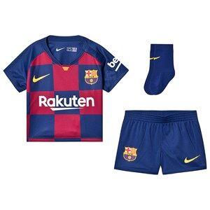 Image of Barcelona FC FC Barcelona Stadium Baby Soccer Set Red/Blue 18-24 months
