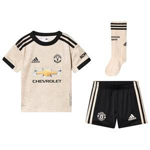 Image of United Manchester United Manchester United Stadium Soccer Set Beige/Black 3-4 years (104 cm)