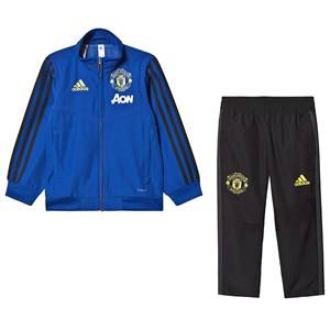 Image of United Manchester United Manchester United 19 Pre-Match Tracksuit Blue/Black 2-3 years (98 cm)