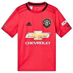 Image of United Manchester United Manchester United 19 Home Shirt Real Red 15-16 years (176 cm)