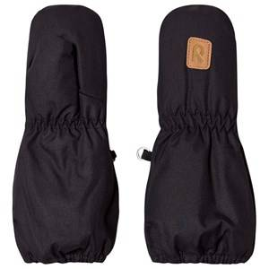 Image of Reima Huiske Mittens Black Ski gloves and mittens