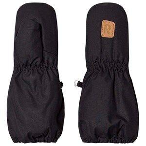 Image of Reima Huiske Mittens Black Ski gloves and mittens